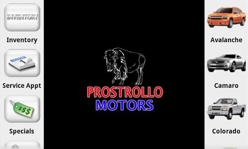 Prostrollo Motors Dealer App