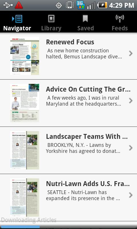 Lawn & Landscape magazine - screenshot