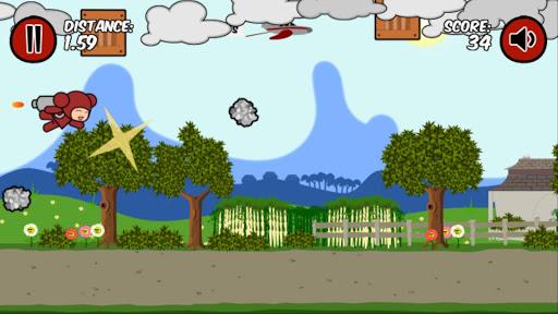 【免費休閒App】Flying Red Panda-APP點子