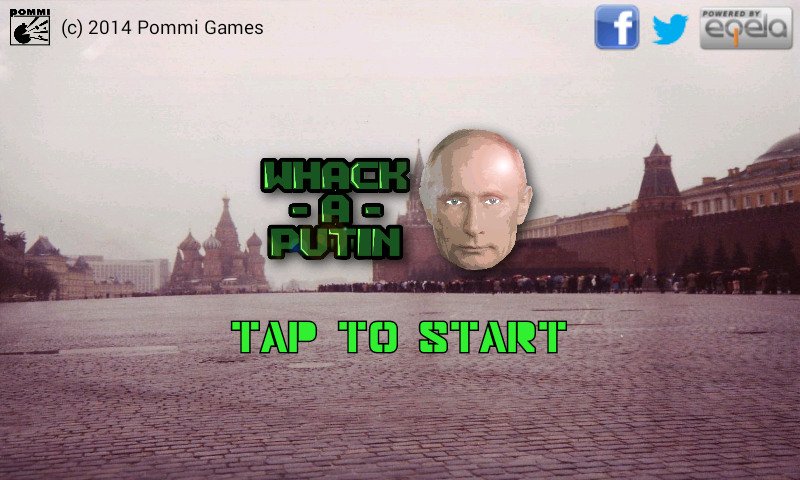 Whack-A-Putin - screenshot