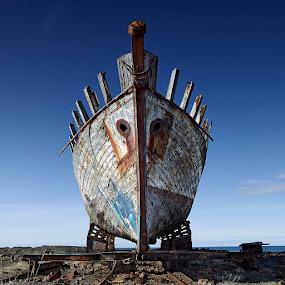 Argonaut Vessel by Fokion Zissiadis - Transportation Boats ( sescape vessel argonaut ship wreck iceland, water, device, transportation )