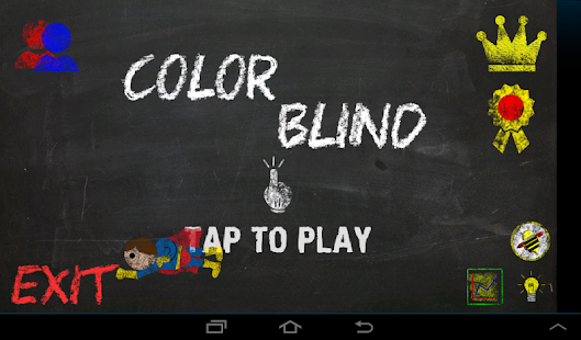 Color Blind : The Game