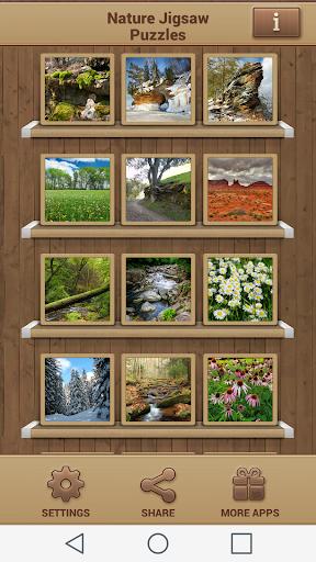 自然ジグソーパズル