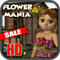 Flower Shop Tile Match 3 Game logo