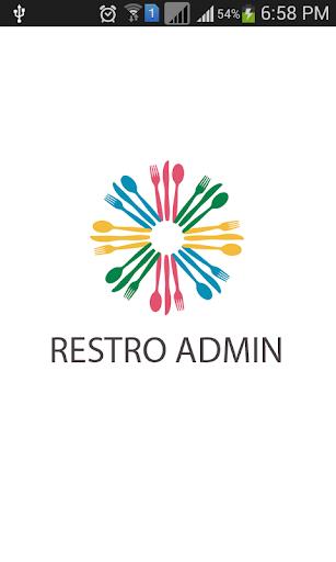Restro Admin
