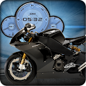 Buell Motorbike Compass Widget icon