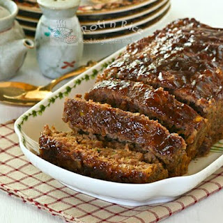 Asian Style Meatloaf.