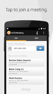 GoToMeeting- screenshot thumbnail