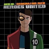 Ben10/Generator Rex Heroes United