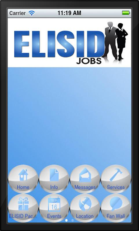 ELISID Jobs Application- screenshot