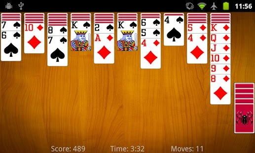 Spider Solitaire- screenshot thumbnail