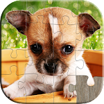 Dogs Jigsaw Puzzles Games Kids 8.8 Apk