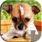 Dogs Jigsaw Puzzles for Kids
