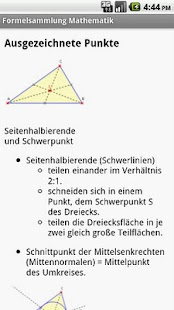 Formelsammlung Mathematik - screenshot thumbnail