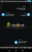 Screenshot of Clip2Net