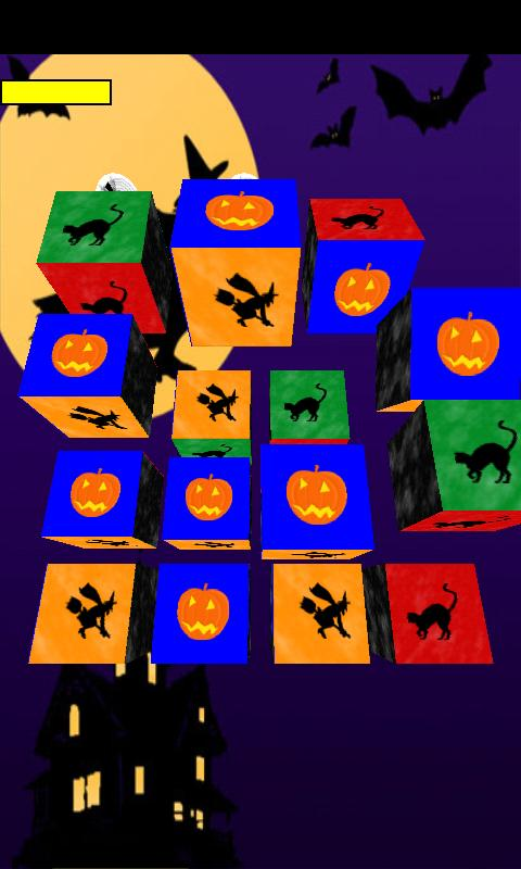 Halloween Puzzle Cube - screenshot