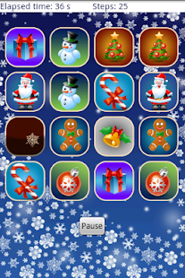 Christmas Memory Game - screenshot thumbnail