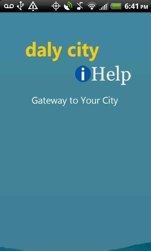 Daly City iHelp - screenshot