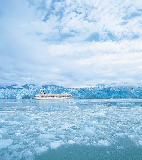 Crystal-Symphony-Alaska-Hubbard-Glacier - Sail by Alaska's beautiful Hubbard Glacier aboard Crystal Symphony.