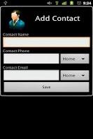 Screenshot of 3D Contact List Premium