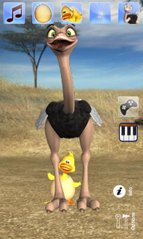 Talking Joe Ostrich - screenshot