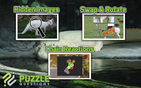 Free Albino Animal Puzzle Game- screenshot thumbnail