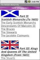 Screenshot of The British Monarchy