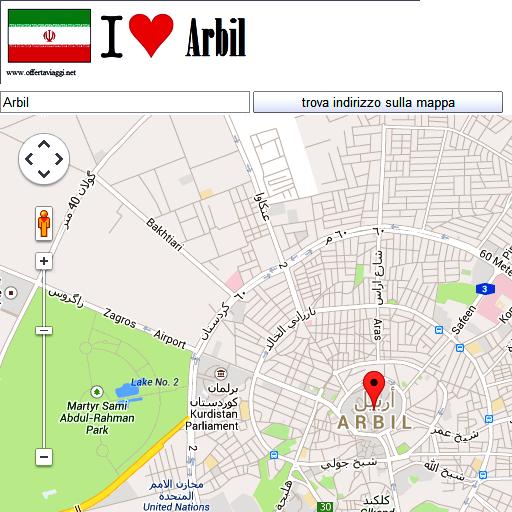 Arbil maps