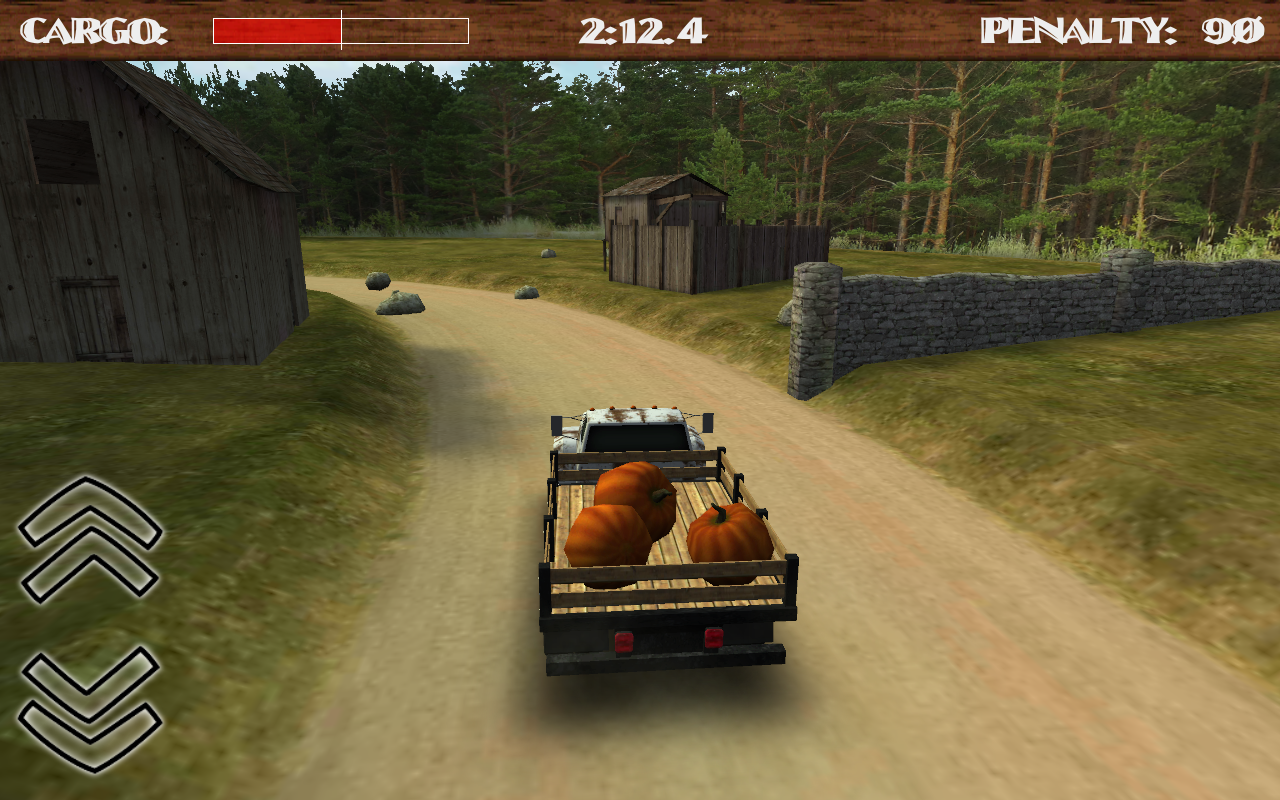 Dirt Road Trucker 3D- screenshot