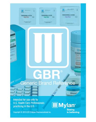 Mylan GBR Guide