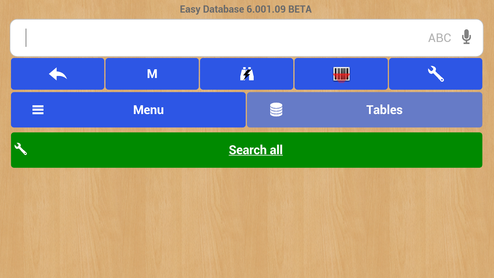 Easy Database- screenshot