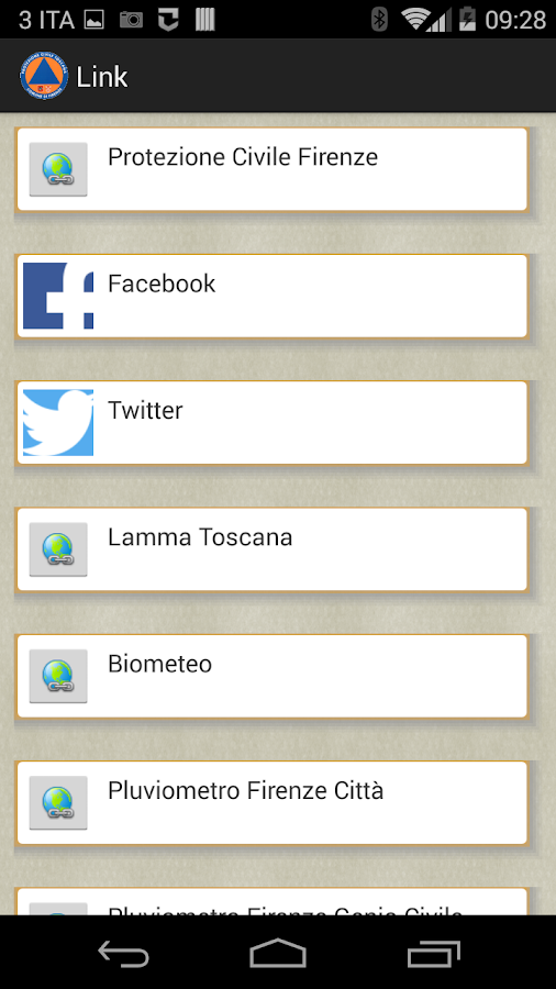 Infosoc Firenze- screenshot