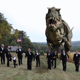 wedding scare by Jeffrey Spayd - Wedding Groom