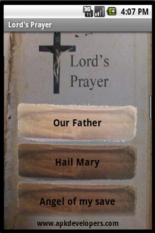 Christian prayers - screenshot