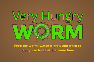 Screenshot of Very Hungry Worm For Kids