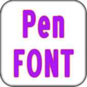 Pen font Pack for Galaxy