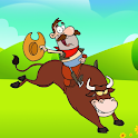 Whip Crack Barrier and Cowboy icon