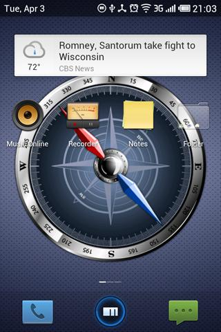 Compass Free - screenshot