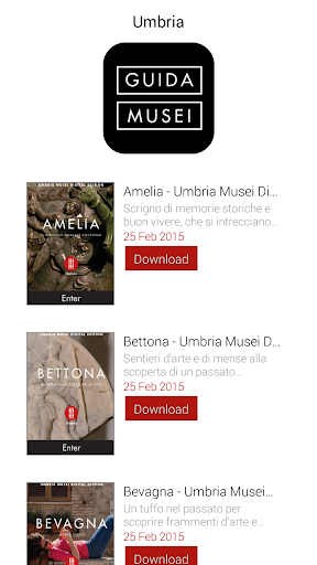Umbria Museums Digital Edition