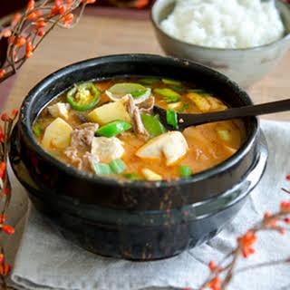 Korean Soy Bean Paste Recipes.