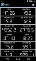 Screenshot of Crank Cycling Computer Pro BLE