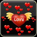 Romantic love ringtone icon