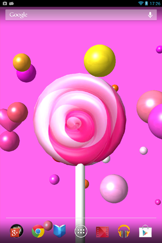 Candy 3D Live Wallpaper