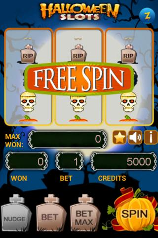 Halloween Slots - screenshot
