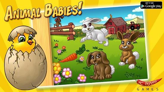 Animal Babies - 拼圖