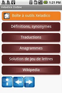 Mes dictionnaires free- screenshot thumbnail