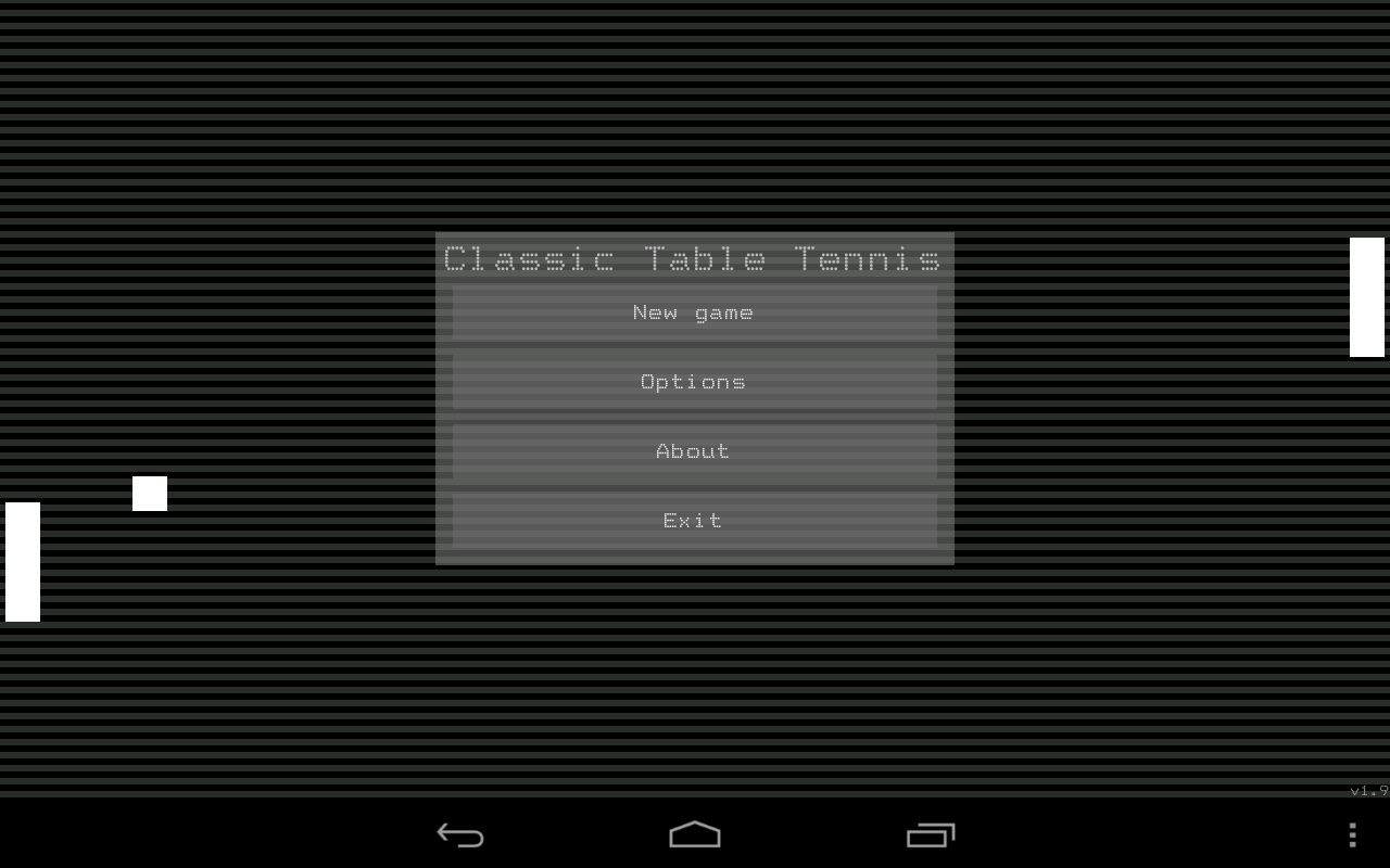 Classic Table Tennis- screenshot