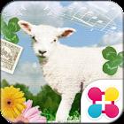 歌唱小綿羊 可愛主題・桌布 icon