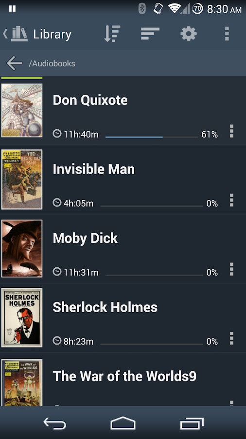 Listen Audiobook Player - screenshot