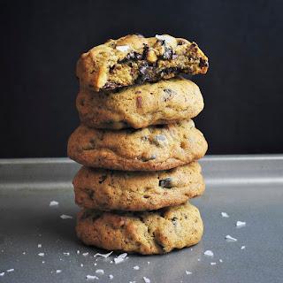 Salty Pretzel Chocolate Chip Cookies.